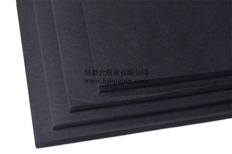 纯木浆黑卡纸